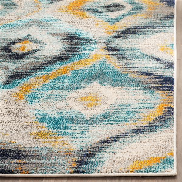 Safavieh Monaco Decorative Rug - 4' x 5.6' - Blue/Multi