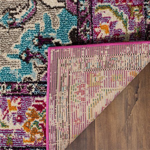 Safavieh Monaco Decorative Rug - 3' x 5' - Violet/Light Blue