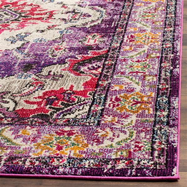 Safavieh Monaco Decorative Rug - 2.2' x 4' - Violet/Fuchsia