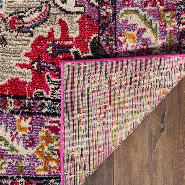 Safavieh Monaco Decorative Rug - 2.2' x 6' - Violet/Fuchsia