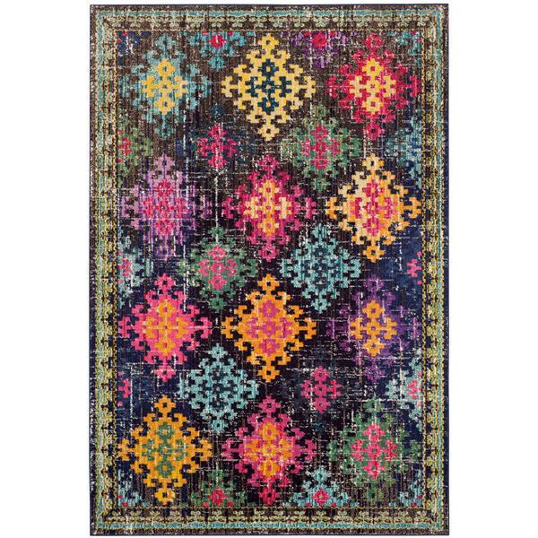 Safavieh Monaco Decorative Rug - 4' x 5.6' - Multi