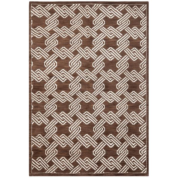 Safavieh Mosaic Decorative Rug - 4' x 6' - Brown/Creme