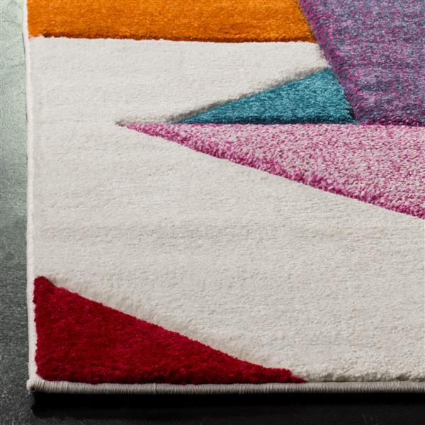 Safavieh Hollywood Decorative Rug - 2.6' x 5' - Ivory/Rose