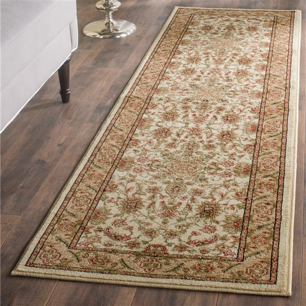Safavieh Lyndhurst Decorative Rug - 2.3' x 16' - Ivory/Tan