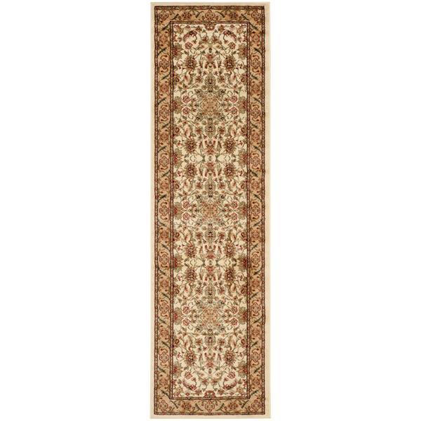 Safavieh Lyndhurst Decorative Rug - 2.3' x 20' - Ivory/Tan