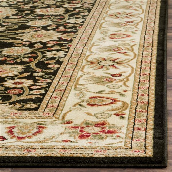 Safavieh Lyndhurst Decorative Rug - 2.3' x 6' - Black/Ivory
