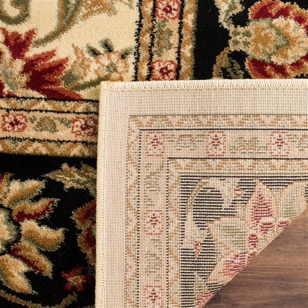 Safavieh Lyndhurst Decorative Rug - 2.3' x 16' - Ivory/Black