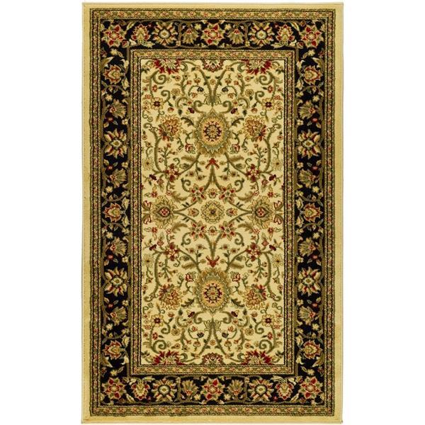 Safavieh Lyndhurst Decorative Rug - 3.3' x 5.3' - Ivory/Black