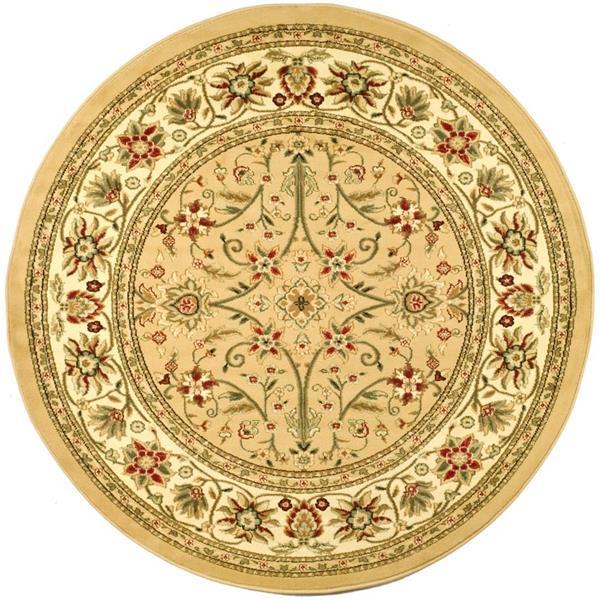 Safavieh Lyndhurst Decorative Rug - 5.3' x 5.3' - Beige/Ivory