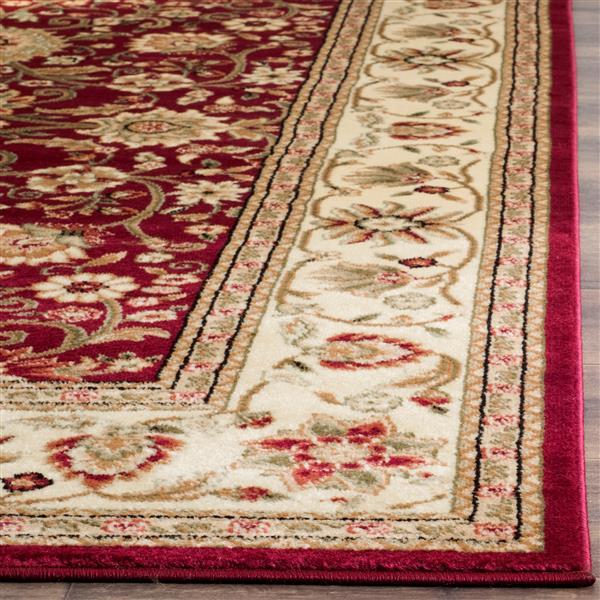 Safavieh Lyndhurst Decorative Rug - 2.3' x 20' - Red/Ivory