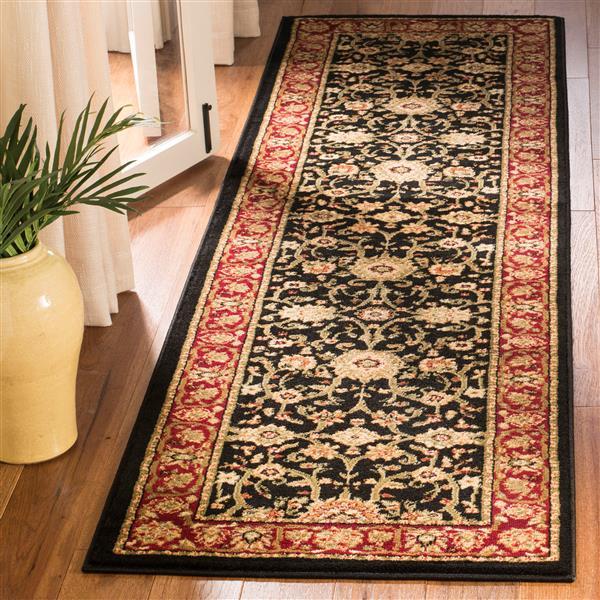 Safavieh Lyndhurst Decorative Rug - 2.3' x 14' - Black/Red