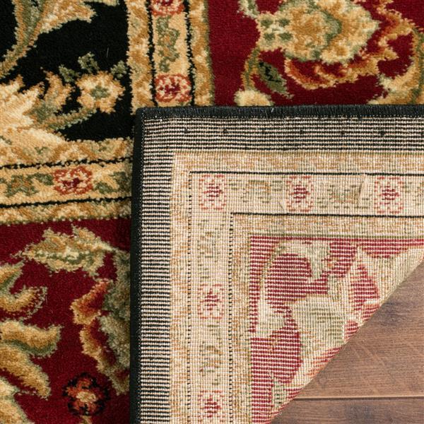 Safavieh Lyndhurst Decorative Rug - 5.3' x 5.3' - Black/Red