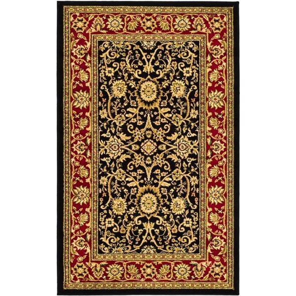 Safavieh Lyndhurst Decorative Rug - 3.3' x 5.3' - Black/Red