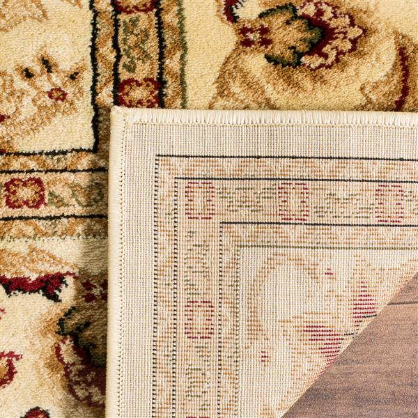 Safavieh Lyndhurst Decorative Rug - 2.3' x 16' - Ivory/Ivory