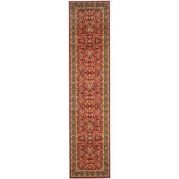 Safavieh Lyndhurst Decorative Rug - 2.3' x 20' - Red/Black