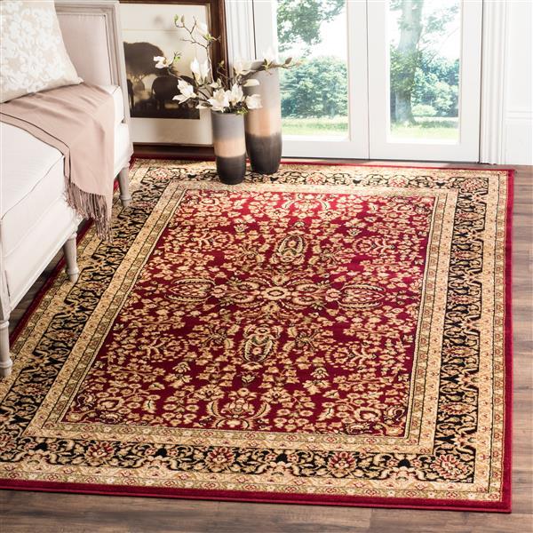Safavieh Lyndhurst Decorative Rug - 4' x 6' - Red/Black