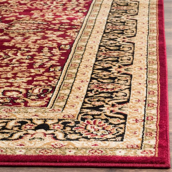 Safavieh Lyndhurst Decorative Rug - 2.3' x 6' - Red/Black
