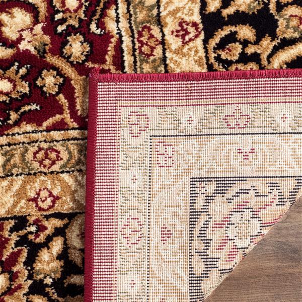 Safavieh Lyndhurst Decorative Rug - 3.3' x 5.3' - Red/Black