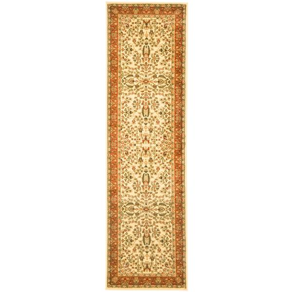 Safavieh Lyndhurst Decorative Rug - 2.3' x 12' - Ivory/Rust