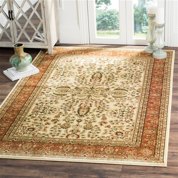 Safavieh Lyndhurst Decorative Rug - 4' x 6' - Ivory/Rust