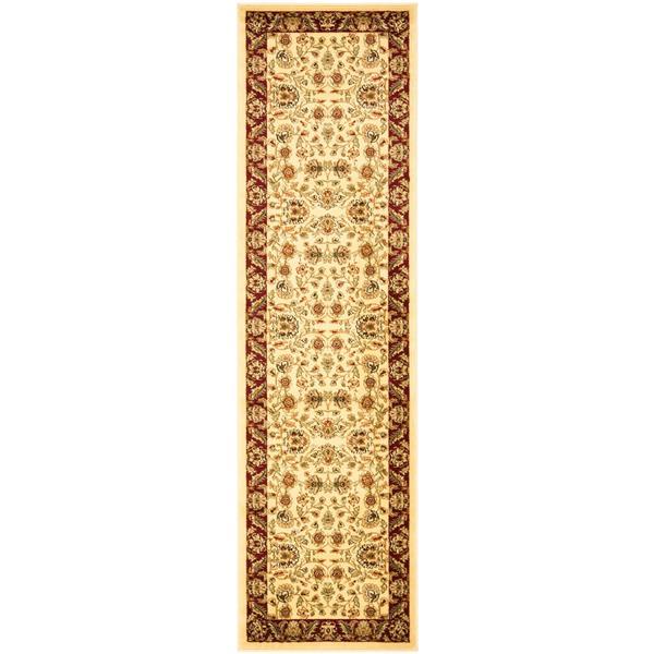 Safavieh Lyndhurst Decorative Rug - 2.3' x 20' - Ivory/Red