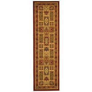 Lyndhurst Decorative Rug - 2.3' x 8' - Multi/Red