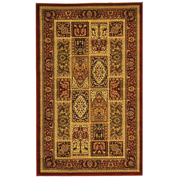 Safavieh Lyndhurst Decorative Rug - 3.3' x 5.3' - Multi/Red