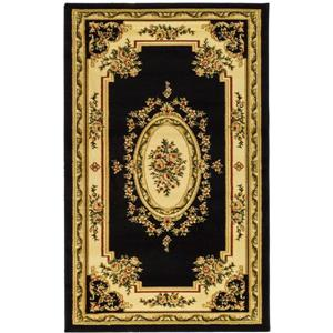 Lyndhurst Decorative Rug - 3.3' x 5.3' - Black/Ivory