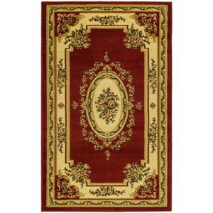 Lyndhurst Decorative Rug - 3.3' x 5.3' - Red/Ivory