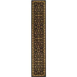 Lyndhurst Decorative Rug - 2.3' x 20' - Black/Ivory