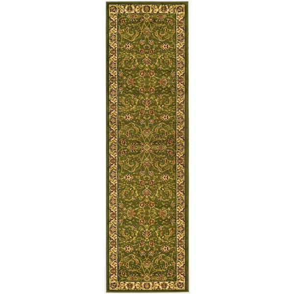 Safavieh Lyndhurst Decorative Rug - 2.3' x 12' - Sage/Ivory