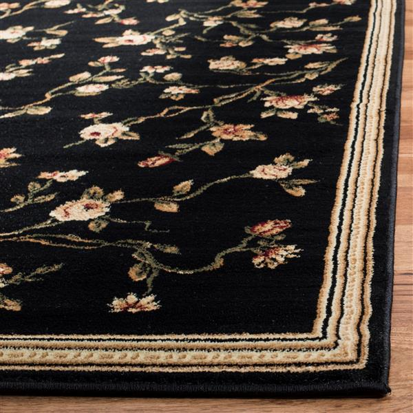 Safavieh Lyndhurst Decorative Rug - 2.3' x 8' - Black