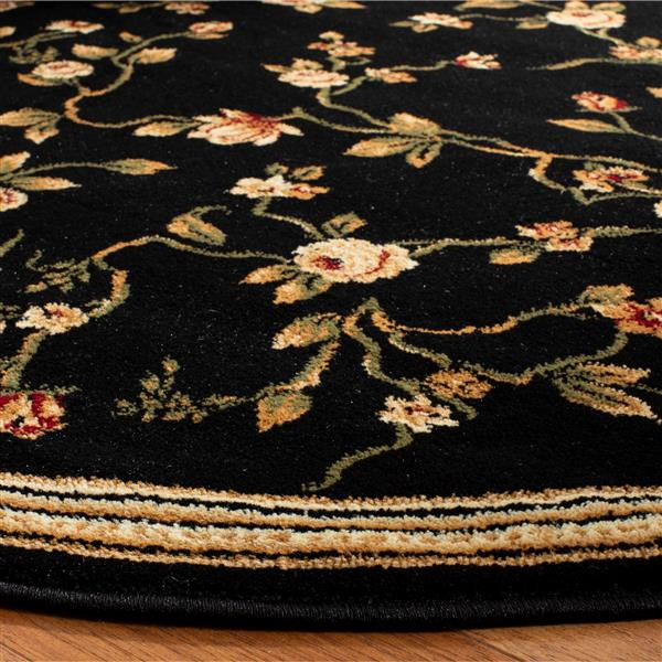 Safavieh Lyndhurst Decorative Rug - 5.3' x 5.3' - Black