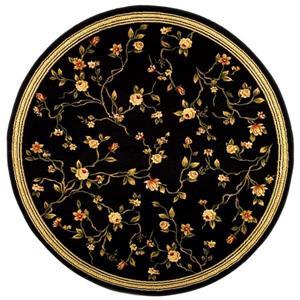Lyndhurst Decorative Rug - 5.3' x 5.3' - Black