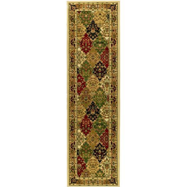Safavieh Lyndhurst Decorative Rug - 2.3' x 14' - Multi/Ivory