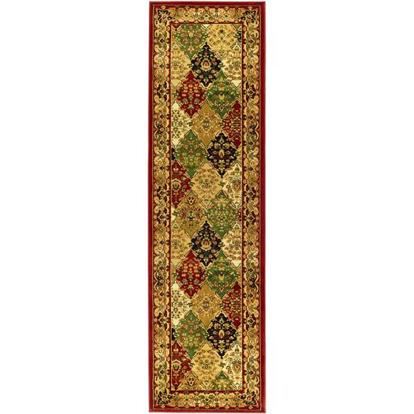 Safavieh Lyndhurst Decorative Rug - 2.3' x 20' - Multi/Red