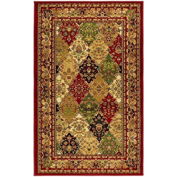 Safavieh Lyndhurst Decorative Rug - 3.3' x 5.3' - Multi/Red