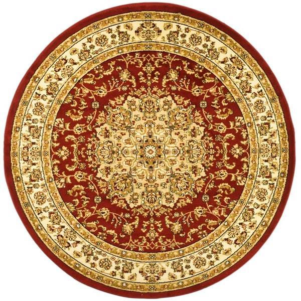 Safavieh Lyndhurst Decorative Rug - 5.3' x 5.3' - Red/Ivory