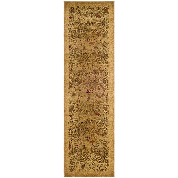 Safavieh Lyndhurst Decorative Rug - 2.3' x 12' - Beige/Multi