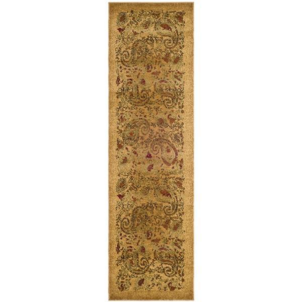 Safavieh Lyndhurst Decorative Rug - 2.3' x 20' - Beige/Multi