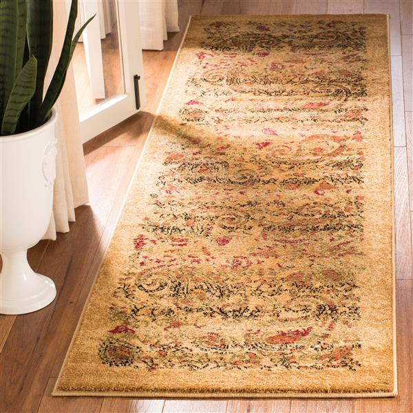 Safavieh Lyndhurst Decorative Rug - 2.3' x 14' - Beige/Multi