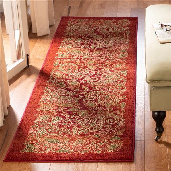 Safavieh Lyndhurst Decorative Rug - 2.3' x 8' - Red/Multi