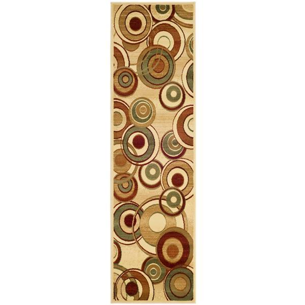 Safavieh Lyndhurst Decorative Rug - 2.3' x 12' - Ivory/Multi