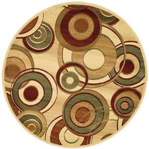 Safavieh Lyndhurst Decorative Rug - 5.3' x 5.3' - Ivory/Multi