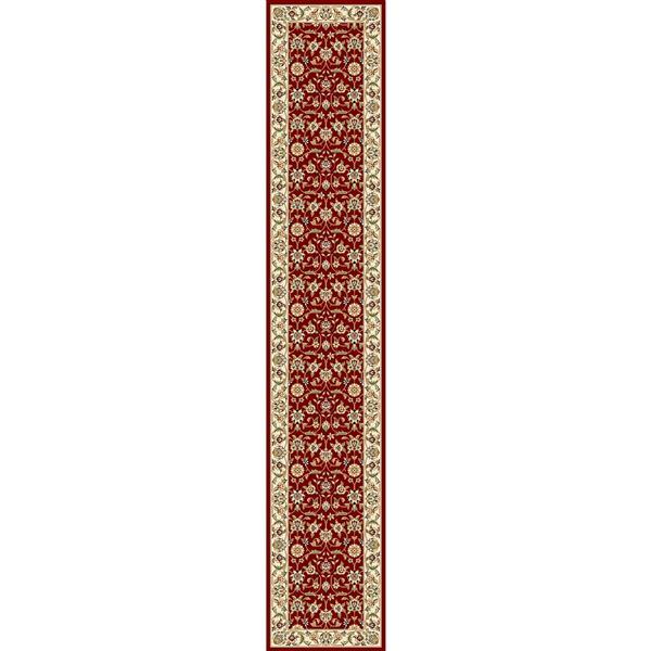 Safavieh Lyndhurst Decorative Rug - 2.3' x 12' - Red/Ivory