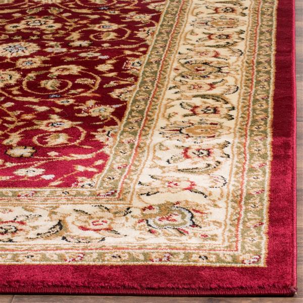 Safavieh Lyndhurst Decorative Rug - 2.3' x 8' - Red/Ivory