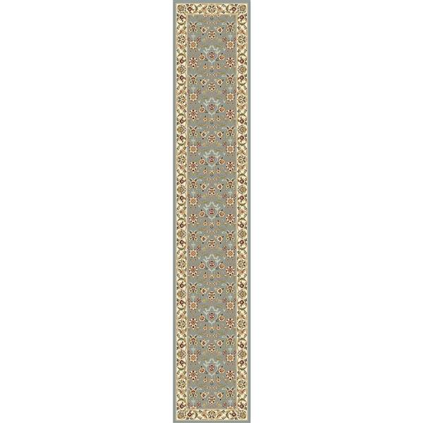 Safavieh Lyndhurst Decorative Rug - 2.3' x 14' - Light Blue/Ivory