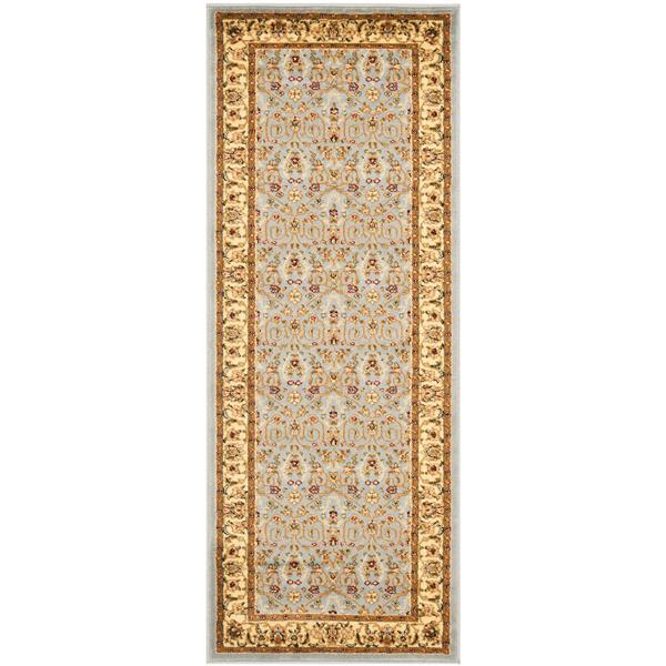 Safavieh Lyndhurst Decorative Rug - 2.3' x 6' - Light Blue/Ivory