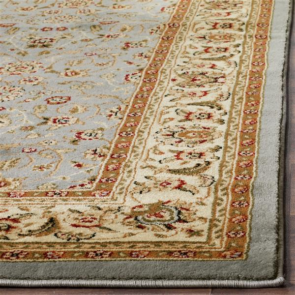Safavieh Lyndhurst Decorative Rug - 2.3' x 22' - Light Blue/Ivory