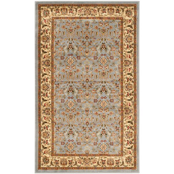 Safavieh Lyndhurst Decorative Rug - 3.3' x 5.3' - Light Blue/Ivory